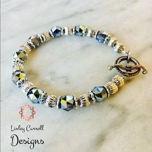 Jewelry - 7-inch Swarovski Crystal Black Diamond Bracelet